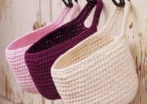 Aprende como hacer cestas de trapillo para el hogar
