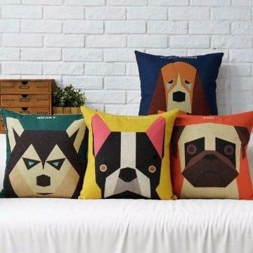 como hacer cojines para sofas de animales