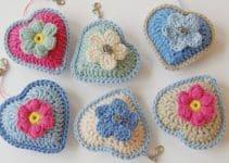 Aprende como hacer corazones al crochet con puntos básicos