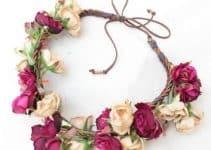 Como hacer vinchas con flores de moda para niñas y damas
