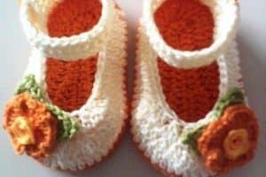 Aprende como tejer zapatitos a crochet patrones fáciles