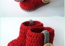 Escarpines tejidos a crochet maneras fáciles de hacerlos