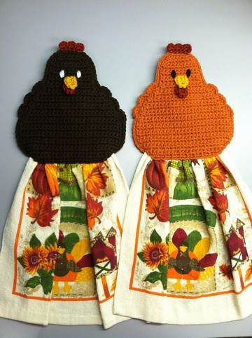 gallina tejida a crochet paso a paso agarradera