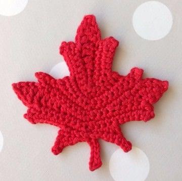 hojas tejidas a crochet para imprimir