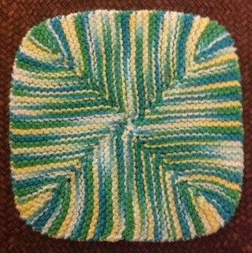 individuales en crochet ovalados