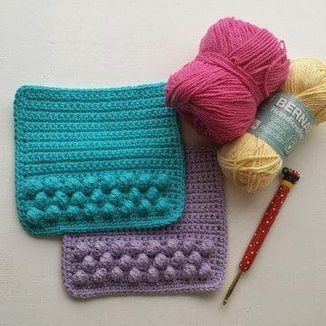 individuale en crochet paso a paso