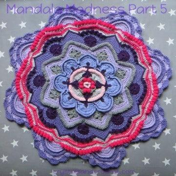 mandalas tejidas a crochet atrapasueño