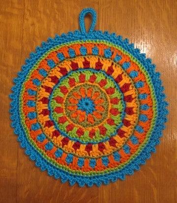 mandalas tejidas a crochet como hacer