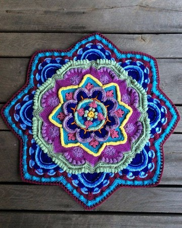 mandalas tejidas a crochet paso a paso