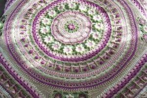 Teje tus mantas de ganchillo de lana patrones a seguir