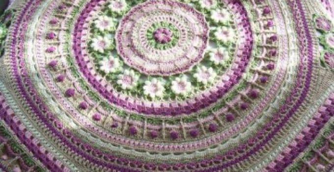 Mantas de ganchillo de lana tejidos a crochet paso a paso - Mantas lana ganchillo ...