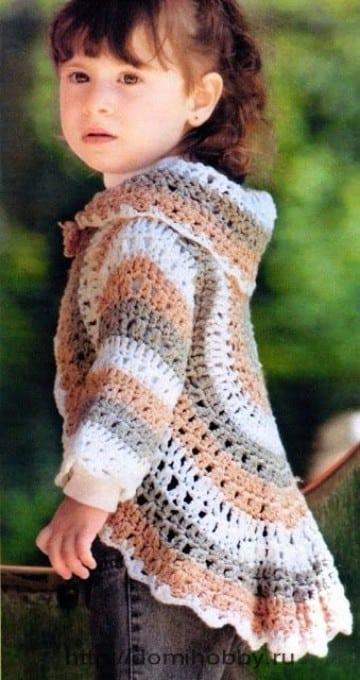 modelos de chalecos tejidos a dos agujas para niños