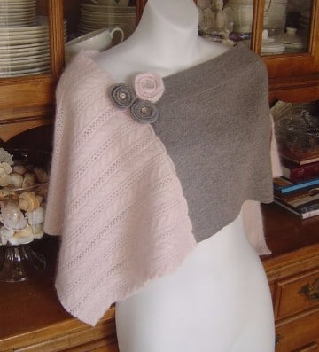 modelos de ponchos tejidos a crochet para mujer