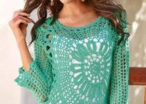 Como hacer poleras a crochet paso a paso patrones gratis