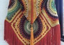 Patrones y pasos para hacer tus ponchos tejidos a gancho