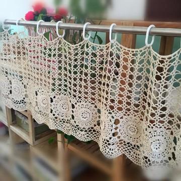 tejidos de cortinas a crochet