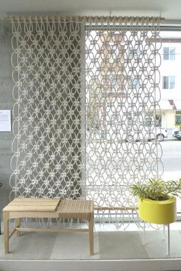 tejidos de cortinas tejidas