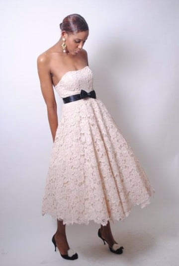 vestidos de novia tejidos a crochet imagenes