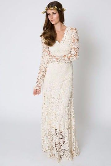 vestido de novia tejidos a crochet patrones