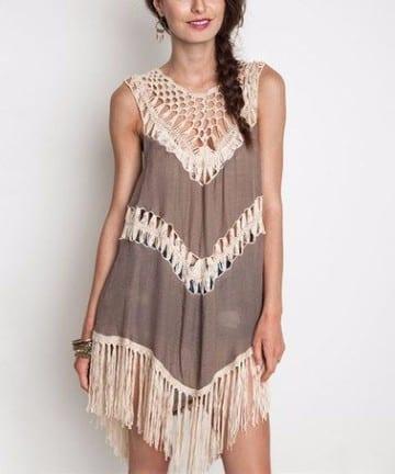 vestidos estilo hippie 2016