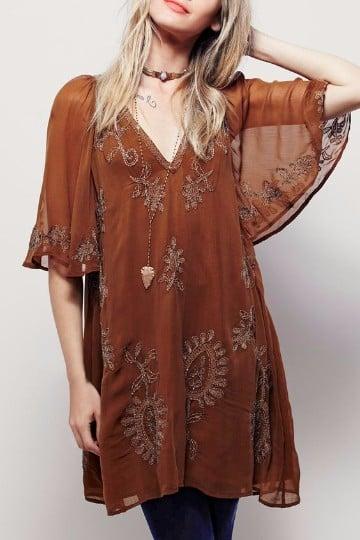 vestidos estilo hippie chic