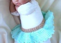 Como hacer vestidos para bebe en crochet paso a paso