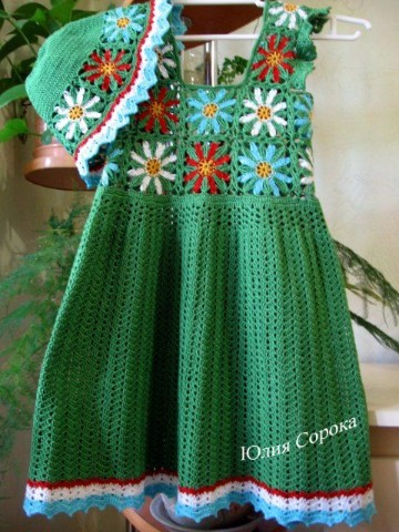 vestidos para bebe en crochet paso a paso