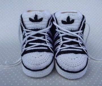 zapatillas tejidas a crochet paso a paso