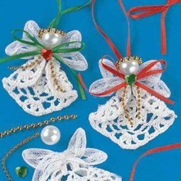 angeles tejidos a crochet imagenes