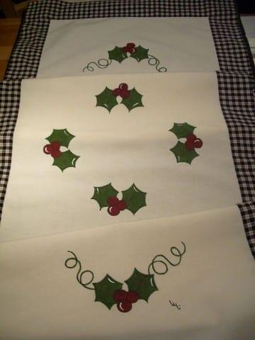 caminos de mesa para navidad como hacer