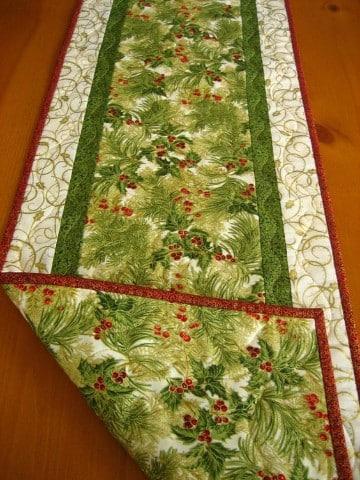 caminos de mesa para navidad moldes