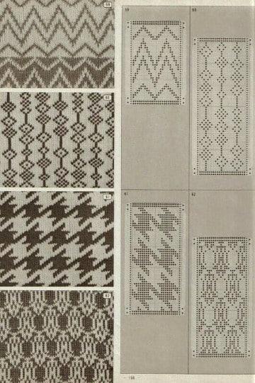 cenefas tejidas a crochet patrones