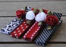 Como hacer diademas de liston faciles para damas y niñas