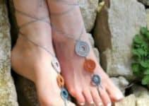 Como tejer unas sandalias para dama pasos a seguir