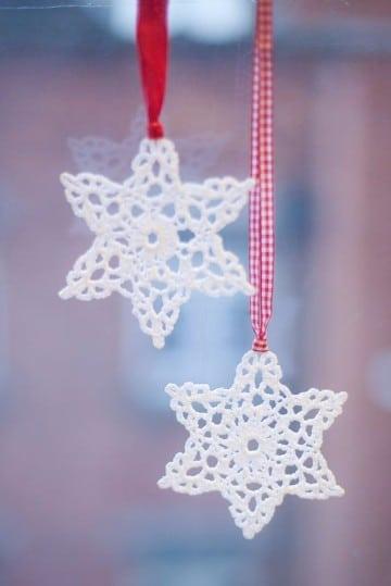 copos de nieve a crochet esquemas