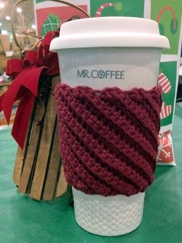 cubre tazas crochet paso a paso