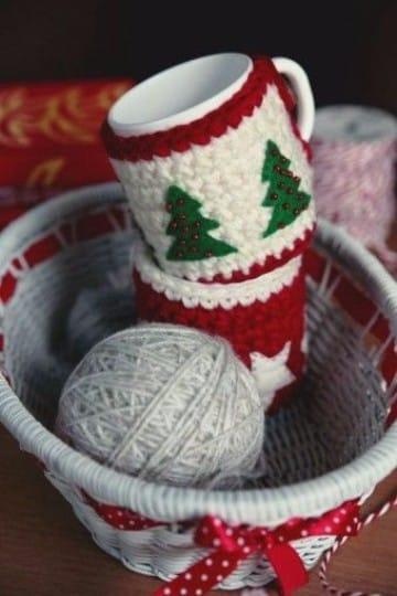 cubre tazas crochet patrones