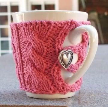 cubre tazas crochet utilisima