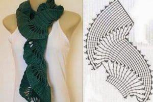 Modelos de cuellos tejidos a crochet patrones faciles