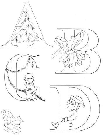 dibujos navideños para bordar a mano