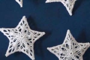 Como tejer estrellas en crochet paso a paso con patrones