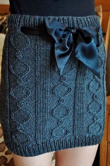 faldas tejidas a gancho crochet