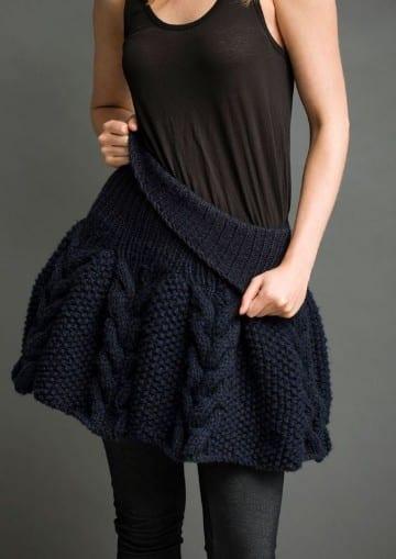 faldas tejidas a gancho verano