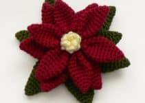 Flores de crochet para el pelo estilos muy modernos