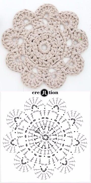 flores de crochet para el pelo patrones