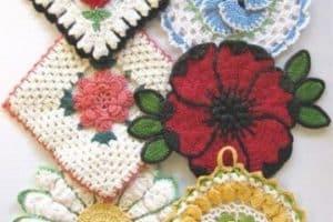 Flores de ganchillo faciles de hacer patrones gratis