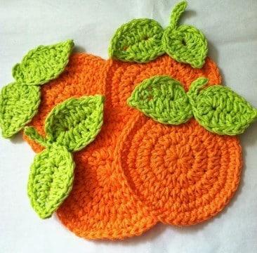 frutas tejidas a crochet gratis