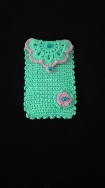 Case Design crochet cell phone case : ... fundas para celular tejidas a crochet : Tejidos a crochet paso a paso