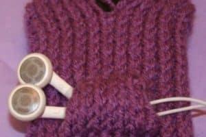 Diseños de fundas para celular tejidas a crochet