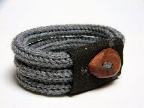 imagenes de pulseras tejidas crochet